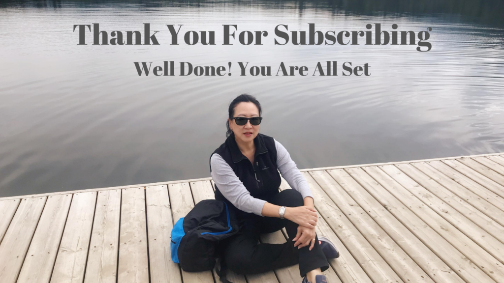 My Thank You Page