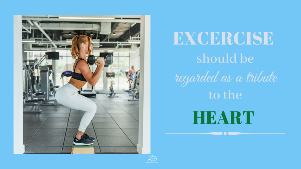 In fitness and in health