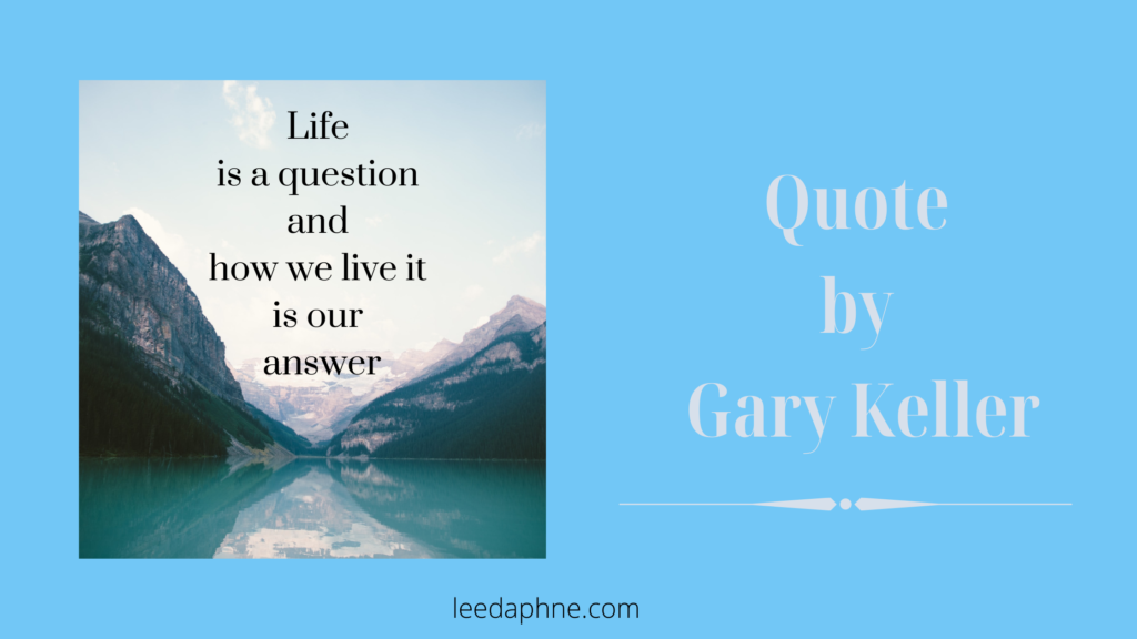 Quote by Gary Keller