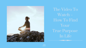 The Video To Watch ~ How To Find Your True Purpose In Life