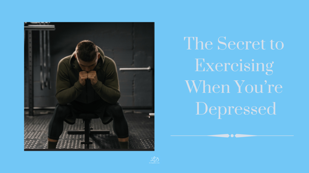The Secret to Exercising When You're Depressed
